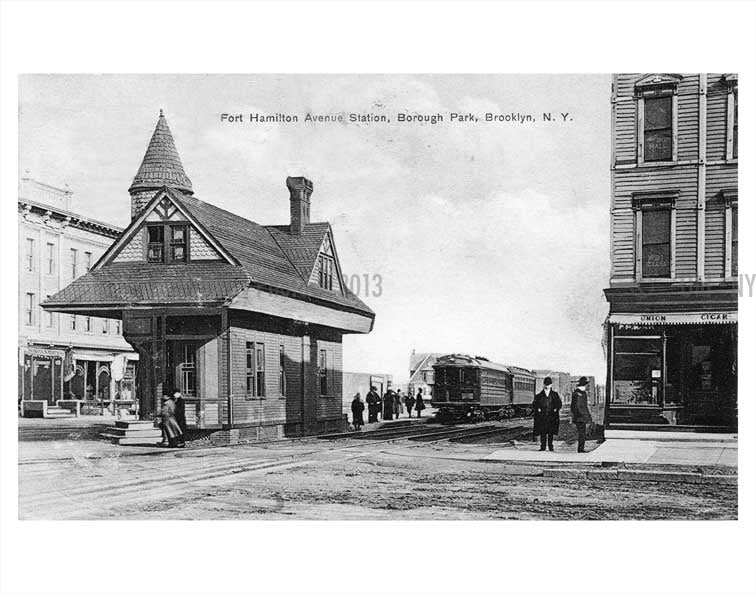 Fort Hamilton Ave Station Old Vintage Photos and Images