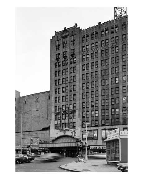 Fox Theater next door to Gerber Brothers - Downtown Brooklyn, NY Old Vintage Photos and Images