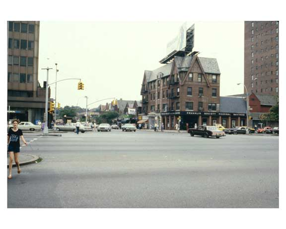 Franklin Society Federal Savings Bank - Queens Blvd.  Forest Hills  Queens 1981 Old Vintage Photos and Images