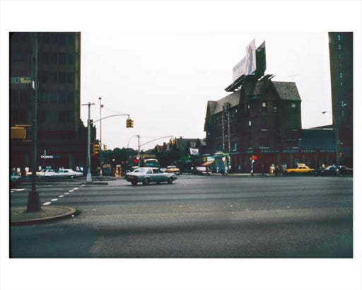Franklin Society Federal Savings Bank Queens Blvd.  Forest Hills  Queens 1981 Old Vintage Photos and Images