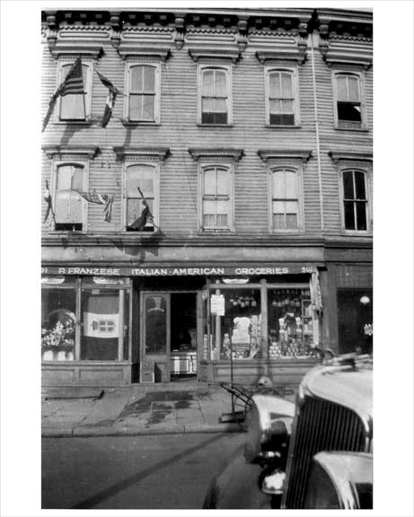 Franzese Grocery Store 501 Humbolt Greenpoint Brooklyn, NY 1930s Old Vintage Photos and Images
