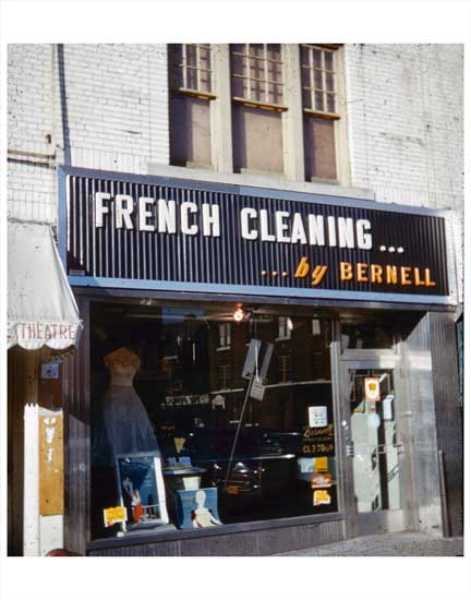 French Cleaners Old Vintage Photos and Images