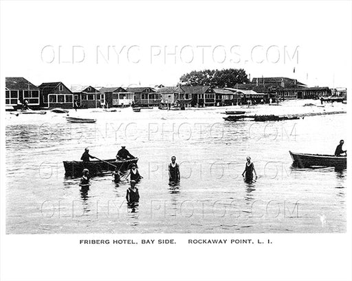 Friberg Hotel Bay Side Rockaway Point Old Vintage Photos and Images
