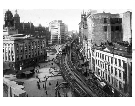Fulton & Boro Hall Old Vintage Photos and Images