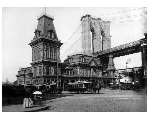 Fulton Ferry 1885 DUMBO Old Vintage Photos and Images