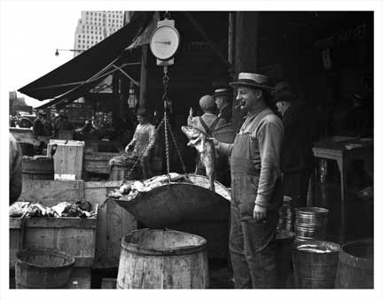 Fulton Fish Market 2 A Old Vintage Photos and Images
