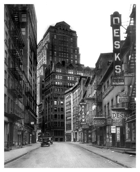 Fulton Street Old Vintage Photos and Images