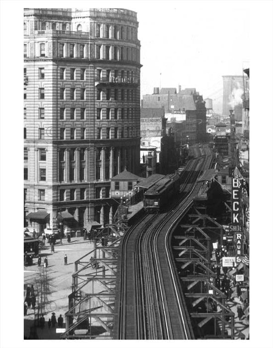 Fulton street Court Station Old Vintage Photos and Images
