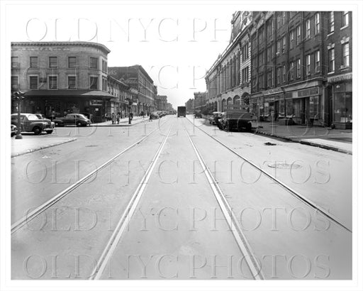 Fulton Street East to Marcy Avenue, 1943 Old Vintage Photos and Images