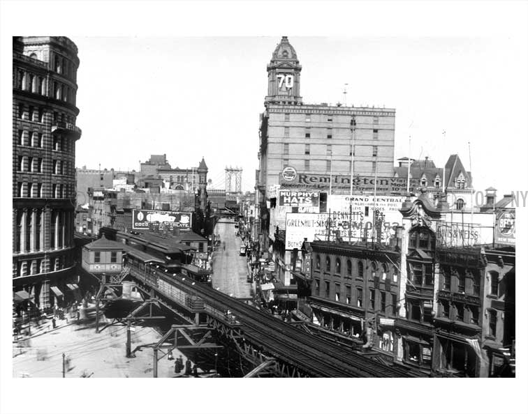 Fulton street train station Old Vintage Photos and Images