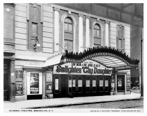 Garden theater Old Vintage Photos and Images