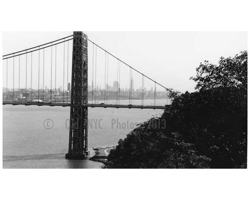 George Washington Bridge - 1959 New York, NY
