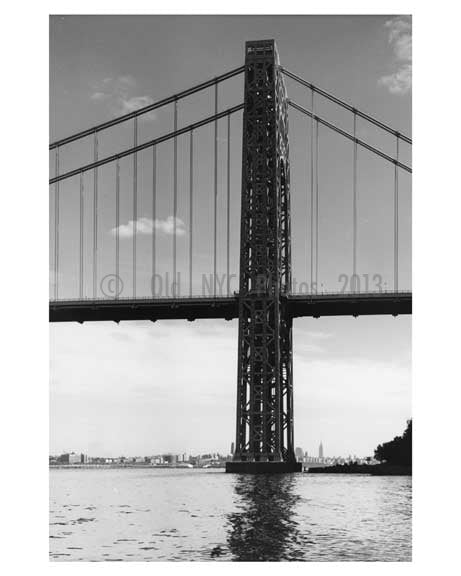 George Washington Bridge - 1959 New York, NY A