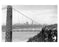 George Washington Bridge with the Manhattan Skyline in the background - 1958 New York, NY Old Vintage Photos and Images