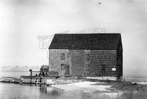 Gerritsen's Mill, Marine Park area, south of Avenue U, 1930 Old Vintage Photos and Images