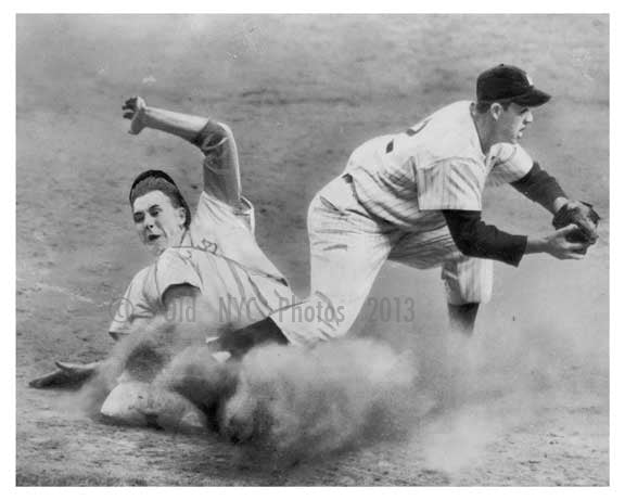 Gil Hodges - Gil Mc Dougold Oct 1 1953 World Series Brooklyn Dodgers - Brooklyn NYC