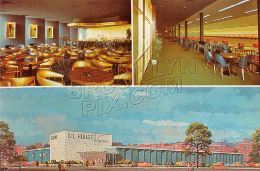 Gil Hodges Lanes, Ralph Avenue near Avenue M, c.1960s Old Vintage Photos and Images