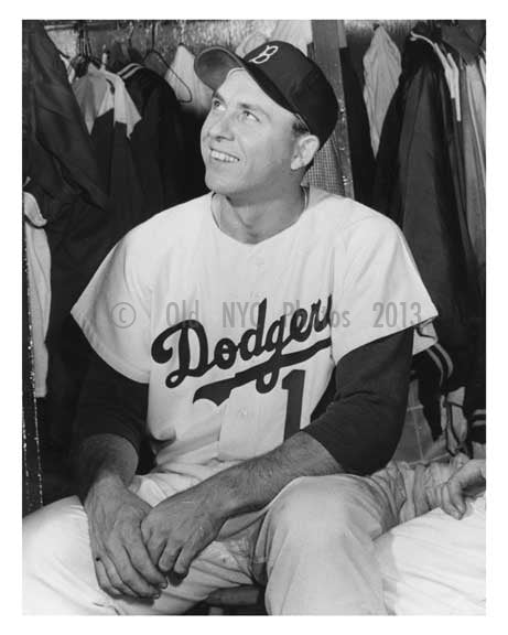 Gill Hodges - Brooklyn Dodger - Ebbets Field - Flatbush - Brooklyn NY 2