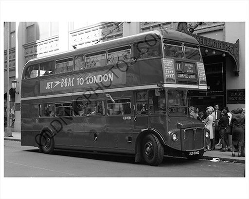 Gimbel Brothers Bus London maybe New York