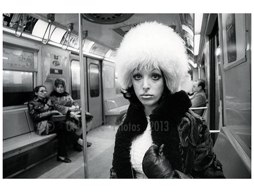 Girl on the train 1970 Old Vintage Photos and Images