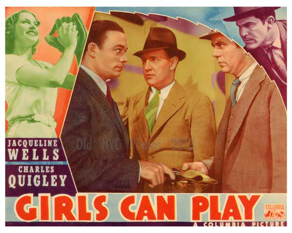 Girls Can Play - Columbia Pictures - Vintage Posters Old Vintage Photos and Images