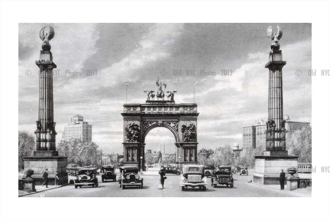 Grand Army Plaza Brooklyn  Old Vintage Photos and Images