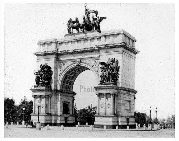Grand Army Plaza A Old Vintage Photos and Images