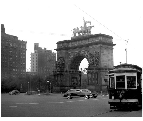 Grand Army Plaza Memorial Old Vintage Photos and Images