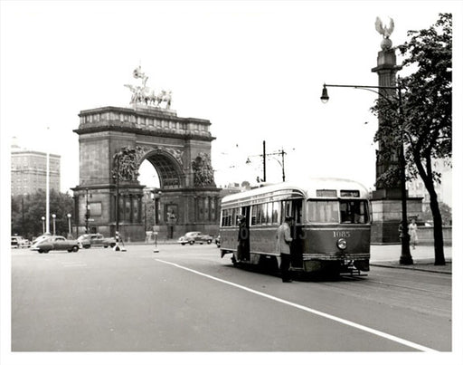 Grand Army Plaza Trolley Old Vintage Photos and Images
