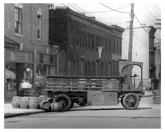 Grand Street  - Williamsburg - Brooklyn, NY 1917 B Old Vintage Photos and Images
