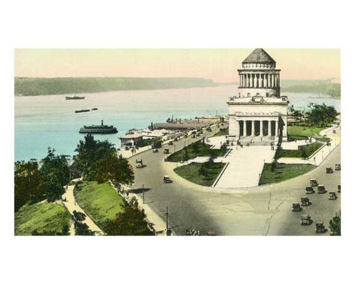 Grants Tomb - Riverside Drive along Hudson River  - Upper West Side   - New York, NY Old Vintage Photos and Images