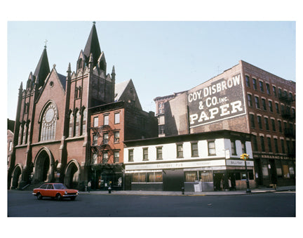Greenwich St & Christopher St - GreenwIch Village - Manhattan - New York, NY Old Vintage Photos and Images