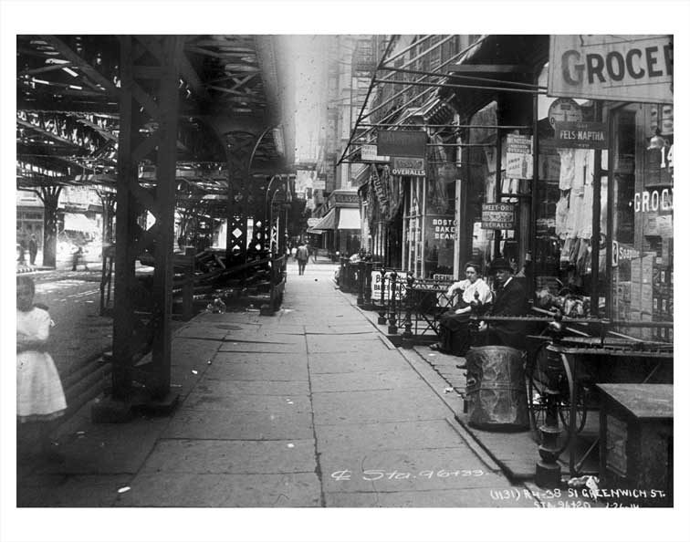 Greenwich Street NYNY Manhattan A Old Vintage Photos and Images