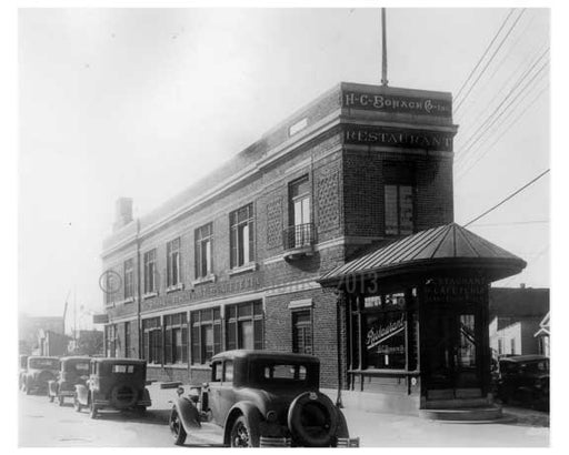 H.C. Bohack Bldg Early 1900s  - Ridgewood - Queens NY Old Vintage Photos and Images