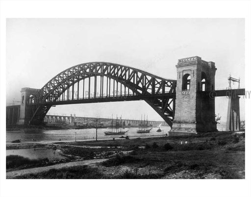 Hells Gate Bridge - Astoria - Queens NY B