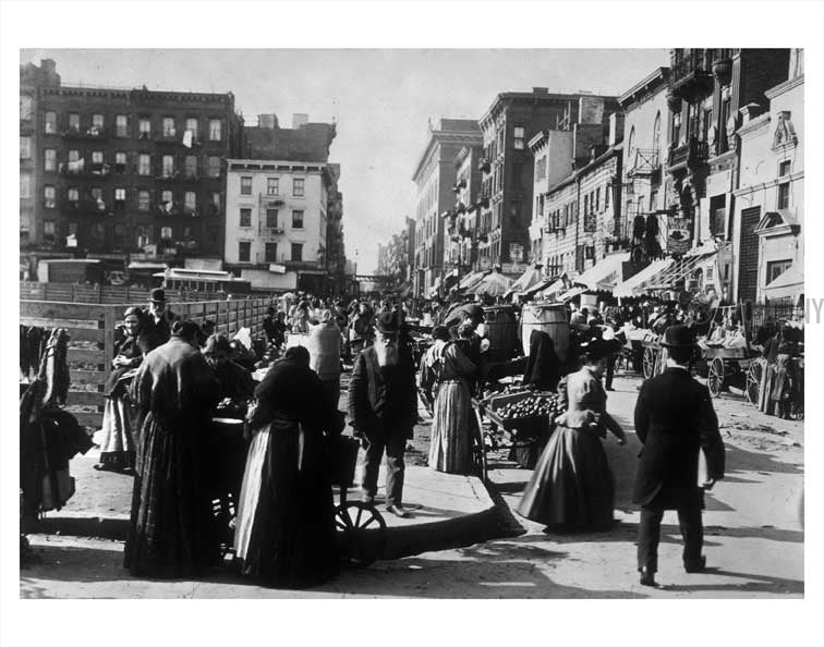 Hester Street Manhattan  Old Vintage Photos and Images