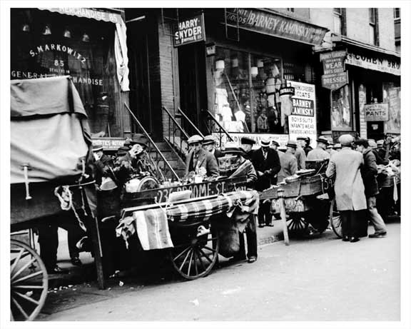 Hester Street West of Orchard 1937 Old Vintage Photos and Images