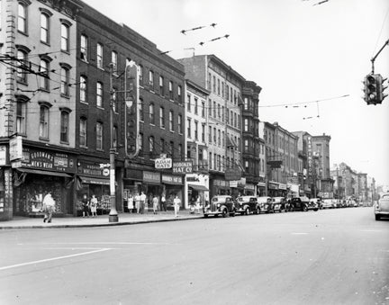 Hoboken NJ Shops Old Vintage Photos and Images