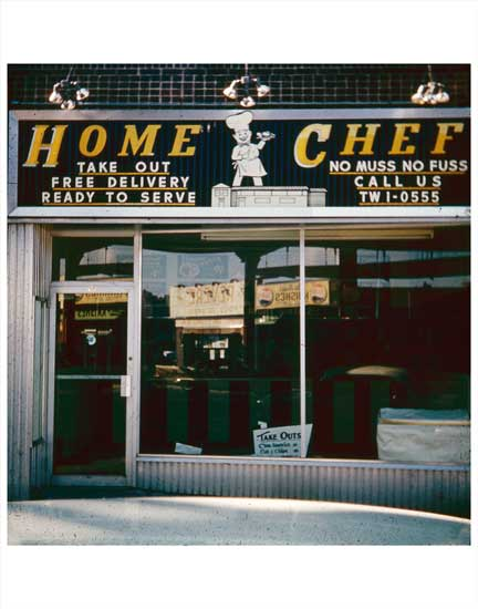Home Chef Restaurant Old Vintage Photos and Images