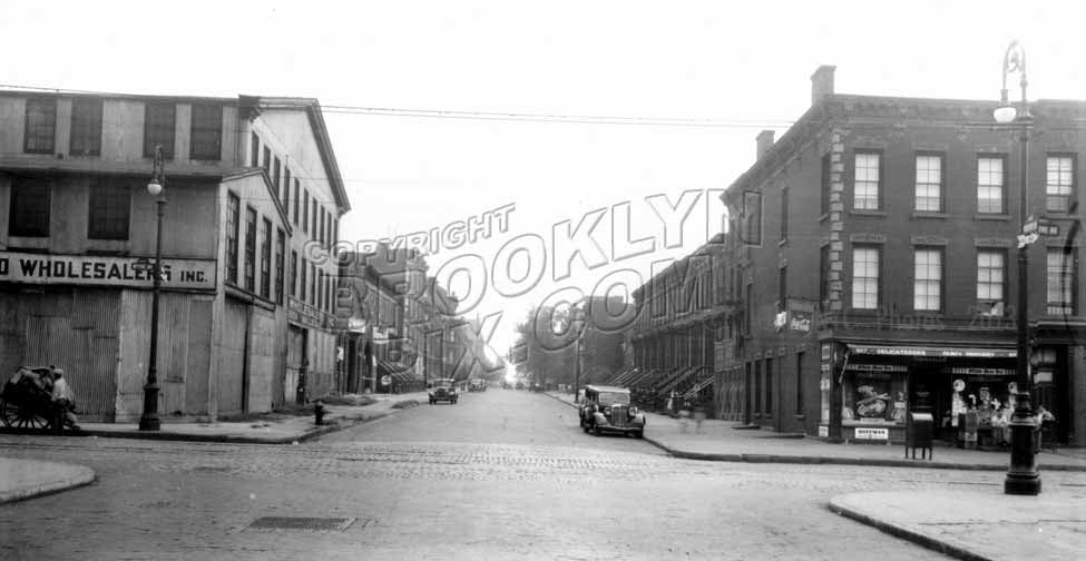 Hooper Street northeast to Wythe Avenue, 1940 Old Vintage Photos and Images