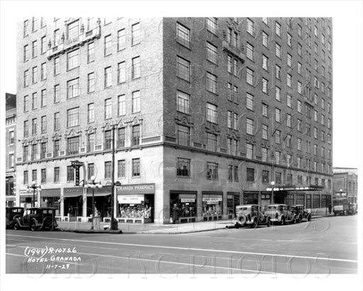 Hotel Granada, Lafayette and Ashland, 1929 Fort Greene Old Vintage Photos and Images