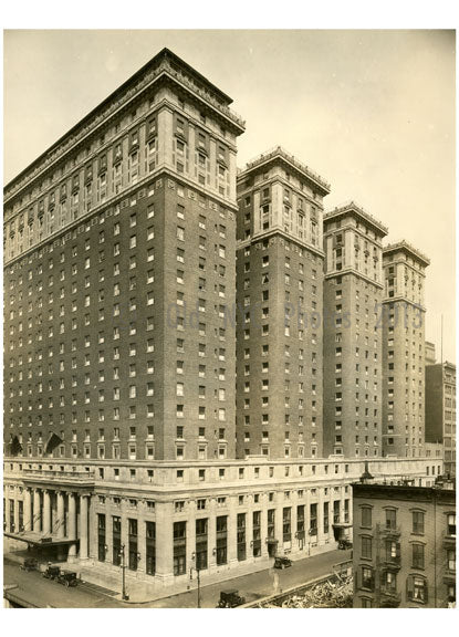 Hotel Pennsylvania - 7th Avenue between 32nd & 33rd Streets 1919 Old Vintage Photos and Images