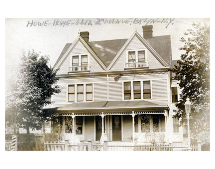 Howe Home on 2nd Ave Bay Ridge Brooklyn NY Old Vintage Photos and Images