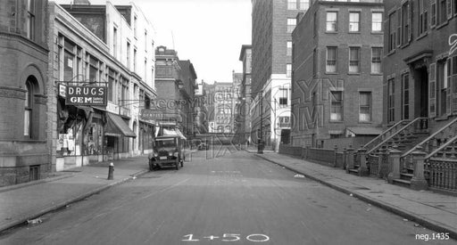 Hoyt Street looking north to Schermerhorn Street, 1928 Old Vintage Photos and Images