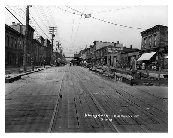 Humbolt Street  - Williamsburg - Brooklyn, NY 1918 P8 Old Vintage Photos and Images