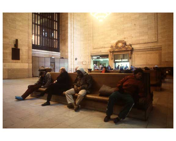 Inside Grand Central Station 1988 B Old Vintage Photos and Images