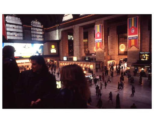 Inside Grand Central Station 1988 C Old Vintage Photos and Images