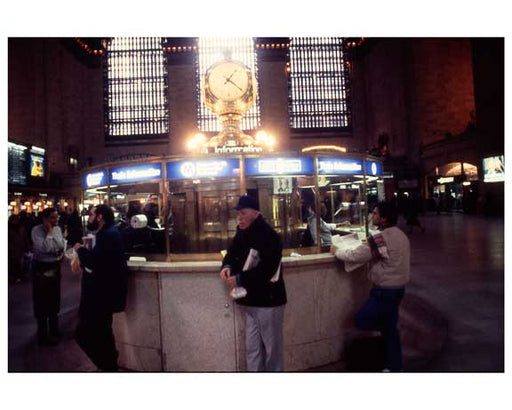 Inside Grand Central Station 1988 D Old Vintage Photos and Images