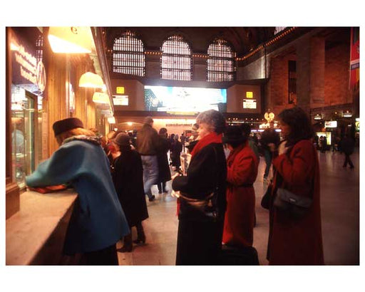Inside Grand Central Station 1988 F Old Vintage Photos and Images