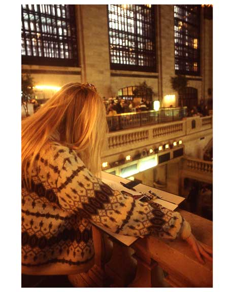 Inside of Grand Central Station 1988 Old Vintage Photos and Images
